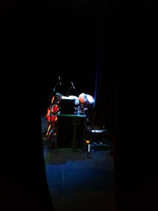 Gerry onstage, Canterbury