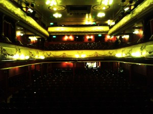 From the stage, Leeds