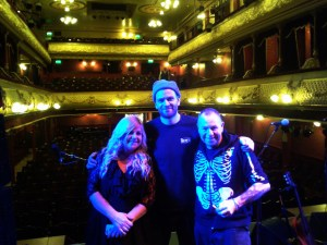 Leila, Owain and Mick, Leeds