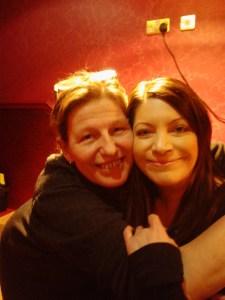 With Ellen, Leeds