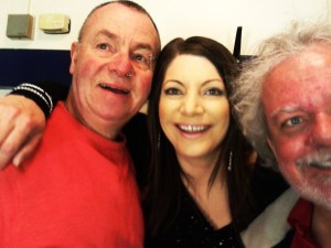 Selfie with Mick and Maartin! St Albans