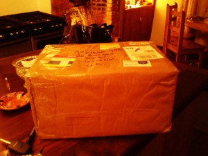 Big parcel from Tony!