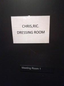 Dressing Room, Farnham