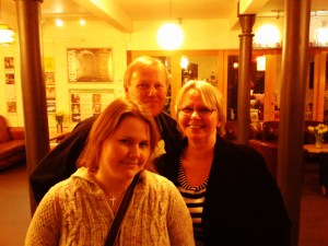 Helen, Ken and Jan, Farnham