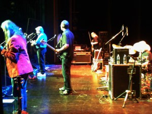 Band Onstage, Weston-super-Mare