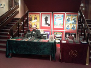Merch Table, Weston-super-Mare