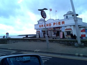 Leaving Weston-super-Mare