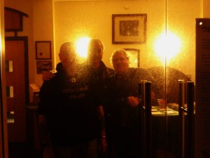Mick, Martin and Ian, through the looking glass, Pontardawe