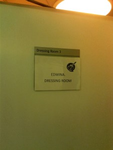 Dressing Room, Birmingham Town Hall
