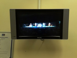Backstage Monitor, Birmingham Town Hall