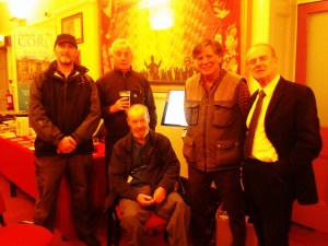 Martin and venue volunteers, Ullverston