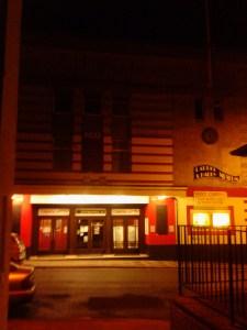 Art deco cinema over the road, Ullverston