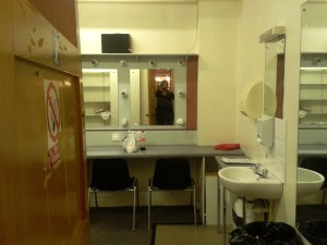 Dressing Room, Ullverston