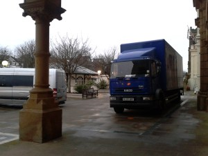Big Blue Lorry, Southport