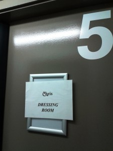 Dressing Room, Southport