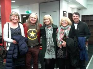Catherine, Chris, Aunty Celia, Mum and Dennis, Southport