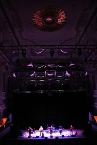 Lighting Rig, Birmingham Town Hall ~ photo courtesy of Andrew Elias