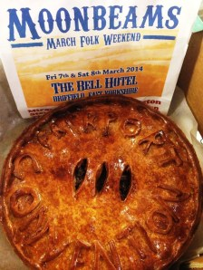 Moonbeams Fairport Pork Pie! (photo courtesy of Simon!)