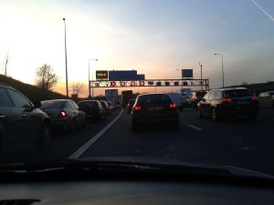 M62 Traffic Hell! Huddersfield