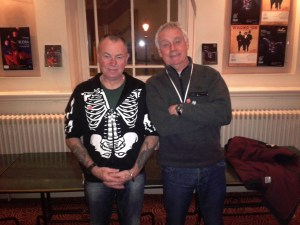 Mick and Martin with Flash! Huddersfield