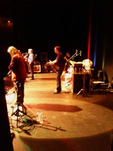 Band Onstage, Huddersfield