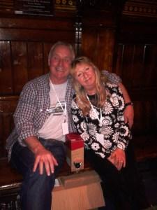 Martin and Jacqui, London