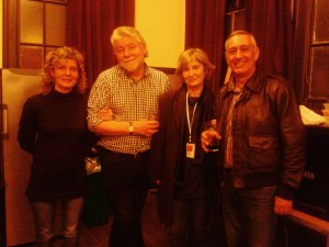 Simon, Sylvia and Friends, Backstage, London